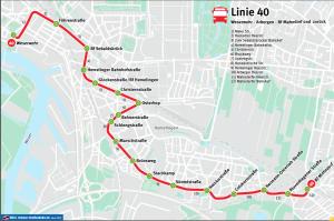 Buslinie 40 und 41 der BSAG Bremen