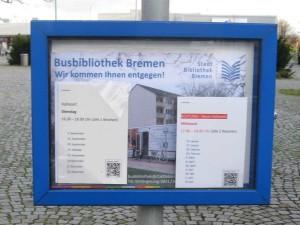 Bus Bibliothek Haltestelle Markt